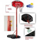 Basketball-Anlage Bandito Junior, 210-260 cm