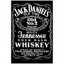 Blechschild Jack Daniels Black Label