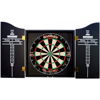 Dart-Cabinet Winmau Skull Kings Head