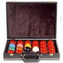 Ball case for pool and snooker balls, softly...