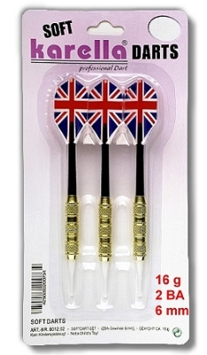 Soft- and Steeldarts in inexpensive large packs.
