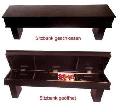 """Sitzbank passend zu Billardtisch """"HOME"""""""