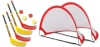 Fun hockey complete set with 2 x 2 set racket and pop up...