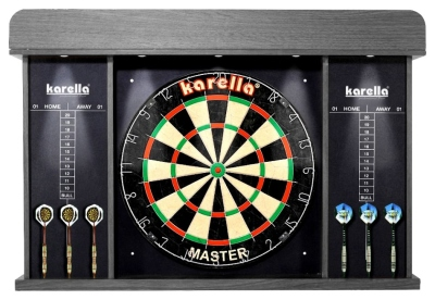 Dart-Cabinet Arena mit LED-Beleuchtung
