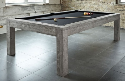 Pool Table Brunswick 8 Feet (8ft) Sanibel Rustic Grey