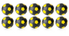 Kickerball Winspeed by Robertson 35 mm, black / yellow,...