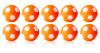Kickerball Winspeed by Robertson 35 mm, orange / white,...