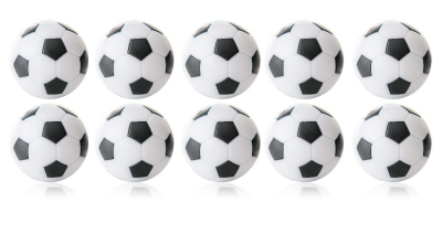Kickerball Winspeed by Robertson 35 mm, white / black, set of 10 piece