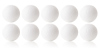Kickerball Winspeed by Robertson 35 mm, white, set of 10...