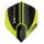 Dart-Fly Winmau MvG PRISM ALPHA 6915-144 grün - schwarz