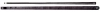 PECHAUER NAKED BREAK cue with BLACK ICE top