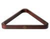 Snooker Triangel Robertson 52,4 mm, Mahagoni