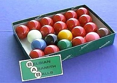 "Snooker Ball Set Aramith ""Premier"" diameter 52,4 mm"