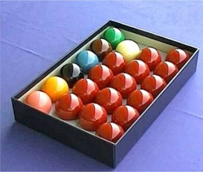 Snooker Ball Set 52,4mm Tournament Champion