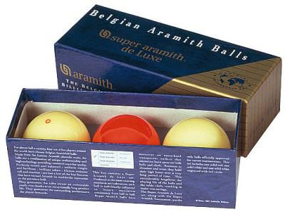 Carom Ball Set Aramith de Luxe 61,5 mm