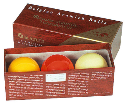 Ball Set Carom Aramith Tournament 61,5 mm