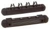 Wall mount antique 4 Cues black