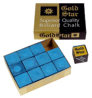Kreide Gold Star Blau