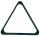 Triangle of balls pool Professional 57,2 mm black