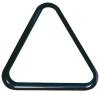 Triangle of balls pool PVC 57,2 mm black