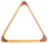 Triangle for pool billiard balls 57,2 mm Wood