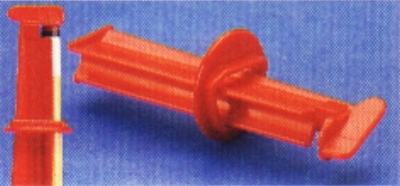 Adhesive clamp for Adhesive tip Red