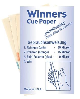 Winners Cue-Paper Set