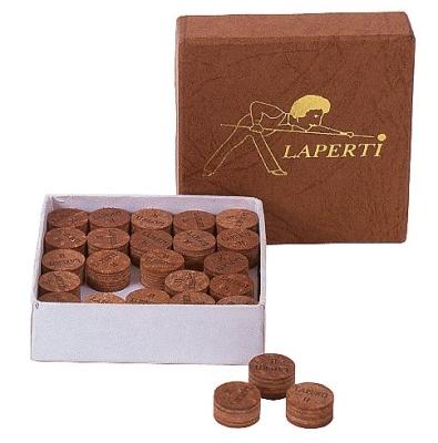 Bonded leather Laperti (multilayer leather) 13 mm medium