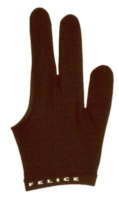 Billardhandschuh Felice schwarz