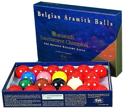 Ball Set Aramith Snooker Tournament TV 52,4 mm