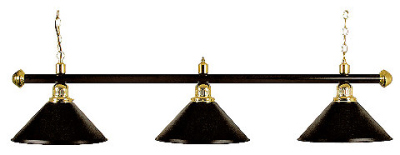 Billiard Lamp London 3 x black