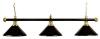 Billardlampe London 3-fach schwarz
