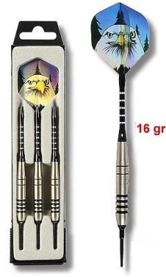 Dart Arrow Set Karella K-6 Softdarts, 18 g