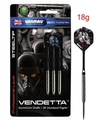 Darts Arrow Set Winmau Vendetta Steeldart 18 g
