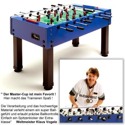 "Kicker ""Master-Cup"" blau"