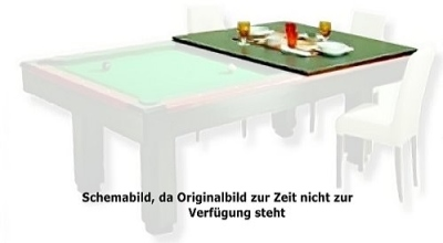 Pool Billardtisch Club-Master Abdeckplatte 8 ft.