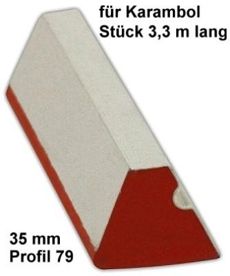 Bandengummi Karambol 35 mm, Profil 79
