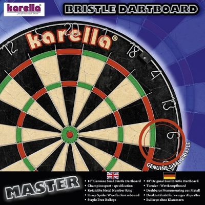 Dartboard Karella Master