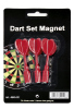 Spare Arrows for Dartsboard magnetic 3 pcs./set red