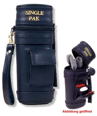 Dartköcher Single-Pak schwarz