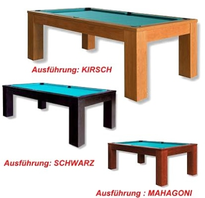 Pool Billardtisch Trento 8 ft. Mahagoni