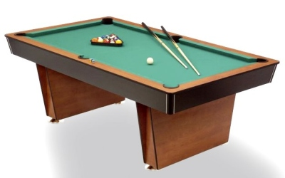 Pool Billiard Table Lugano 6 ft. with material plate