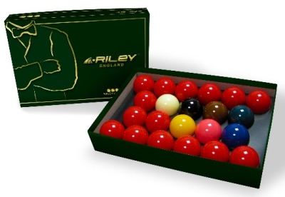 Snooker ball set Riley Pro 52 mm