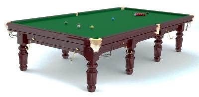 Snooker table Robertson Tournament Mahogany