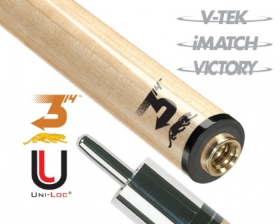 Predator Cue Shaft 314³ 3rd Generation Uni Loc (P 3 Series)