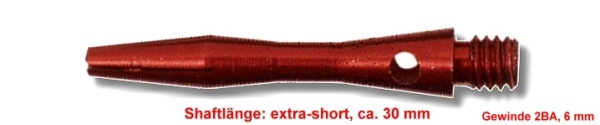 extra short red
